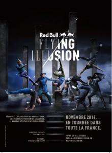 Red Bull Flying Illusion au Zénith