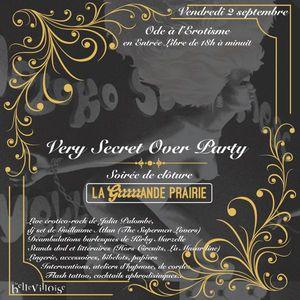 VERY SECRET OVER PARTY La Bellevilloise