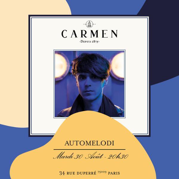 Live at Carmen | Automelodi