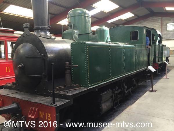 Visite du musée des Tramways à vapeur