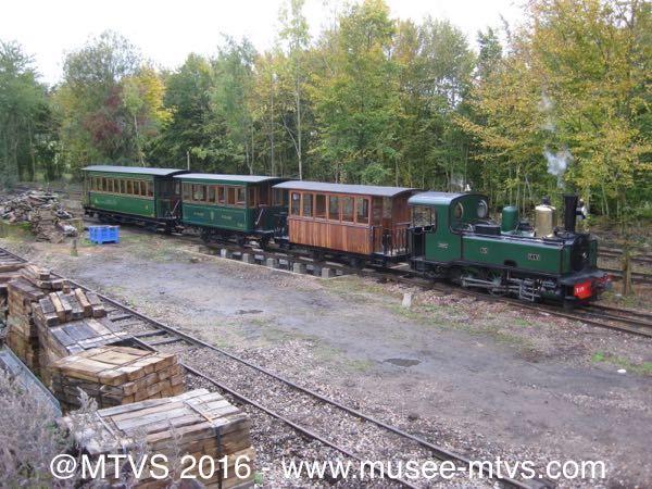 Balade en train vapeur historique