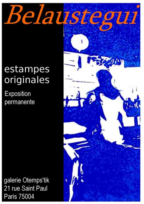 Exposition Belaustegui - Estampes originales