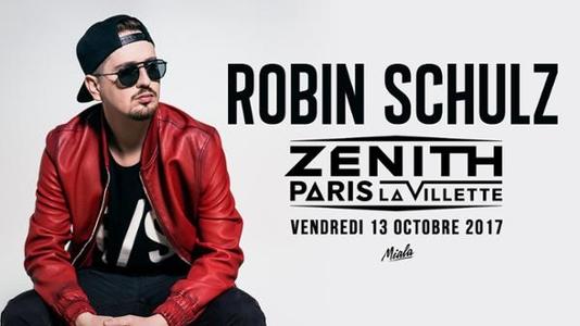Robin Schulz au Zénith de Paris