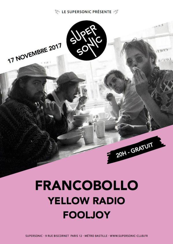 Francobollo • Yellow Radio • Fooljoy / Supersonic - Free