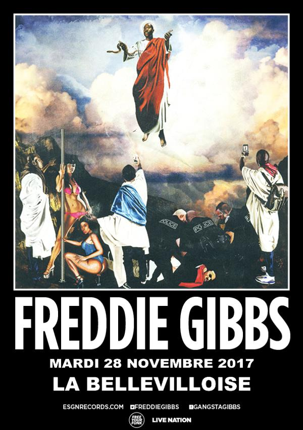 FREE YOUR FUNK : FREDDIE GIBS