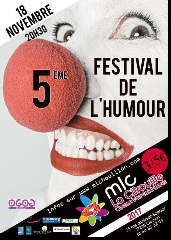5 ème festival de l'humour