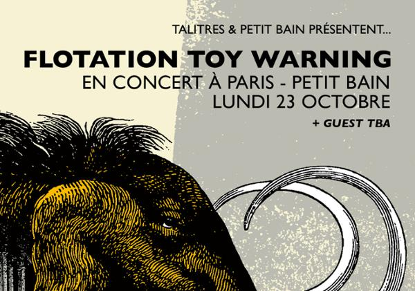 Flotation Toy Warning + Guest