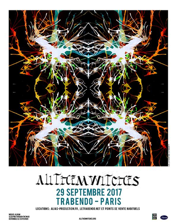 ALL THEM WITCHES + THE GHOST WOLVES