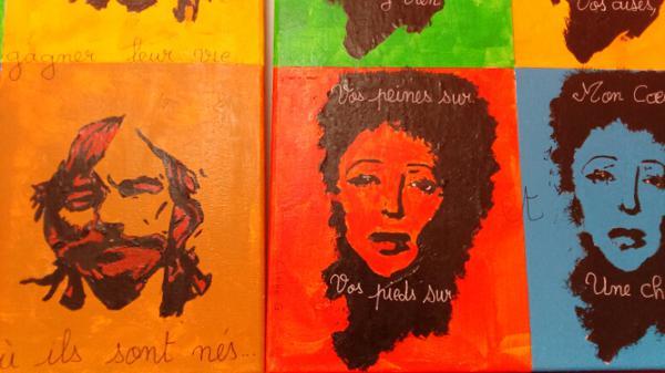 """Dernier jour de l'exposition """"Dans les pas d'Andy Warhol"""" par la Ferme du Château"""