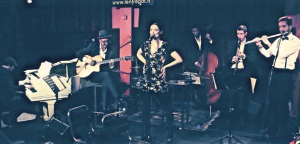 Soirée Swing : Cynthia Queenton & Les Zazous Swingers à L'entrepôt !
