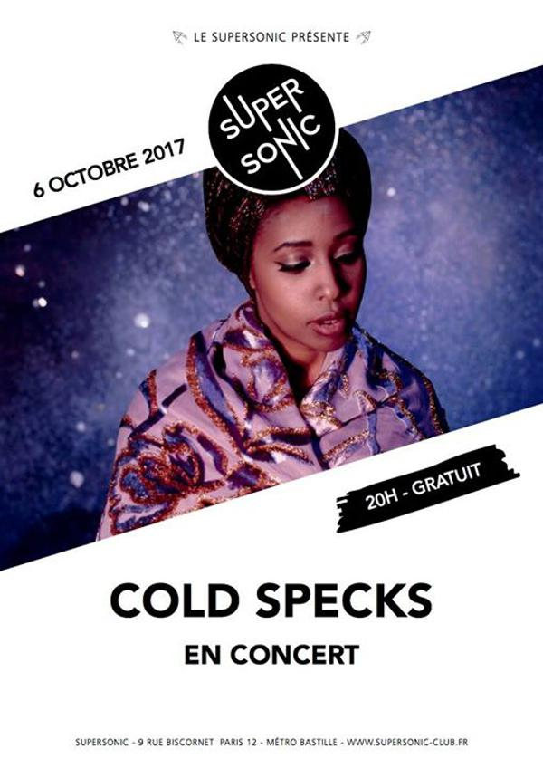 Cold Specks • La Timpa • Yael Miller / Supersonic - Free