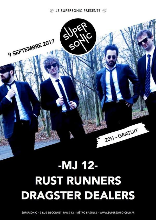 MJ 12 • Rust Runners • Dragster Dealers / Free