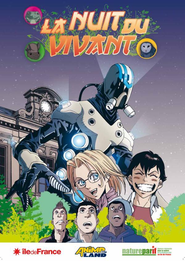 """Exposition manga """"La nuit du vivant"""""""