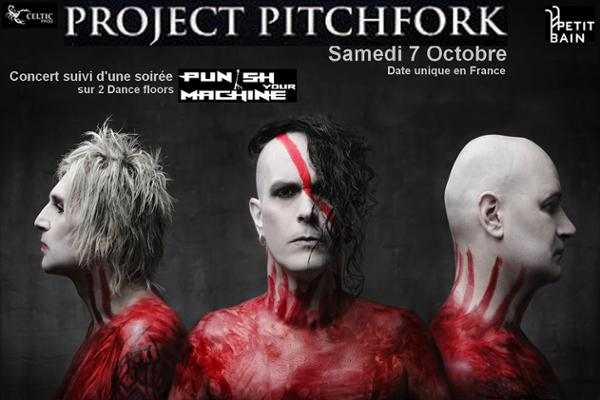 Project Pitchfork + Soirée Punish Your Machine