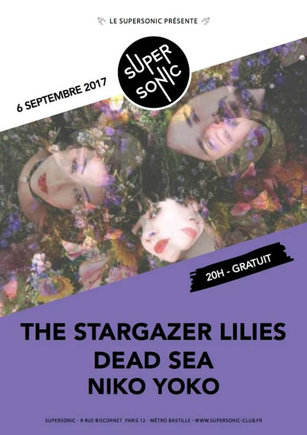 The Stargazer Lilies • Dead Sea • Niko Yoko / Supersonic - Free