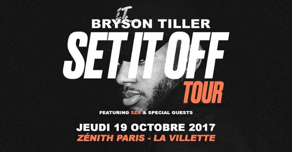 Bryson Tiller au Zénith de Paris
