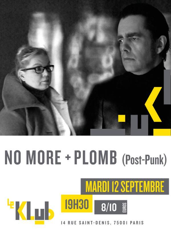No More + Plomb