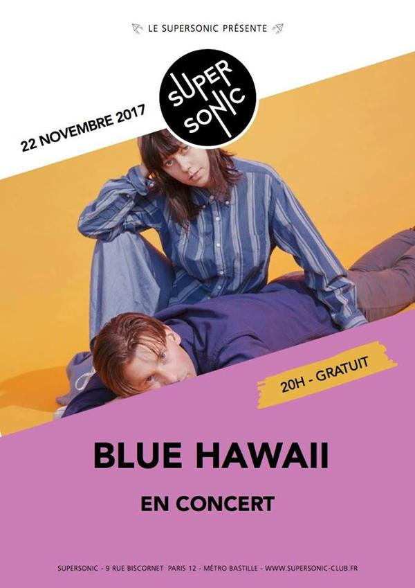 Blue Hawaii au Supersonic - Free