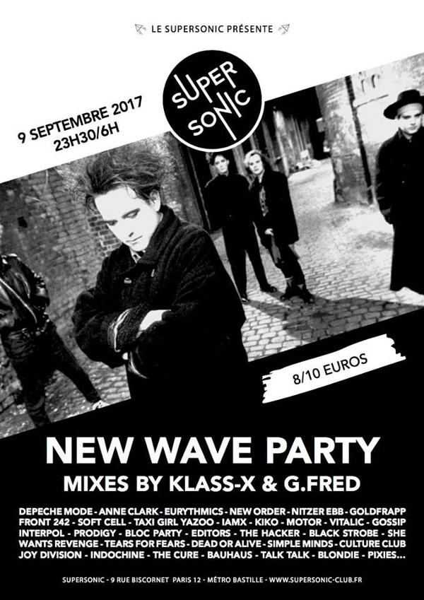 New Wave Party au Supersonic