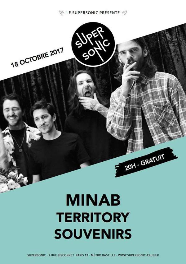MINAB • Territory • Souvenirs / Supersonic - Free