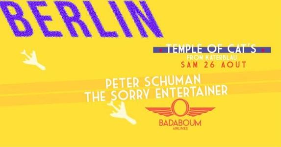 Berlin BADABOUM AIRLINES