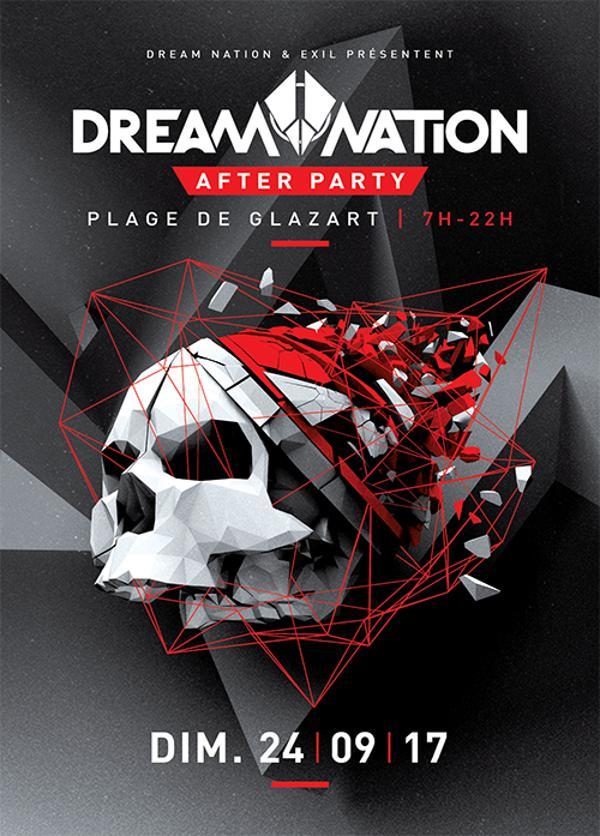 09/24/17 – AFTER DREAM NATION @ Plage de Glazart – Paris