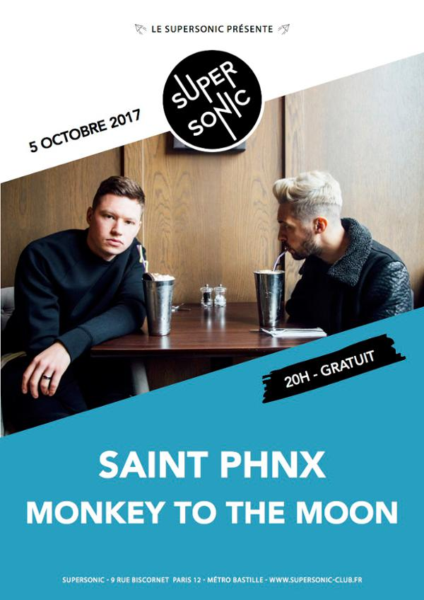 Saint PHNX • Monkey to the Moon / Supersonic - Free