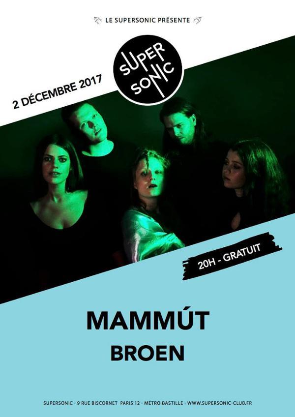 Mammút • Broen • Green Lava / Supersonic - Free
