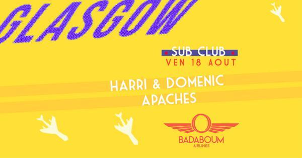 Badaboum Airlines/ Glasgow's Sub Club in Paris
