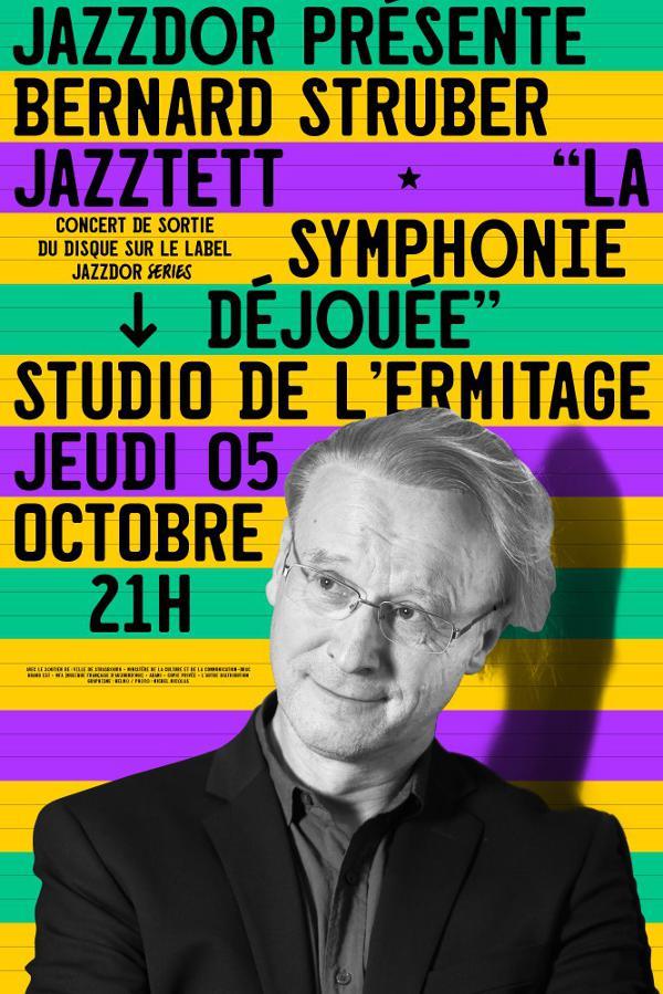 BERNARD STRUBER JAZZTET au STUDIO DE L'ERMITAGE