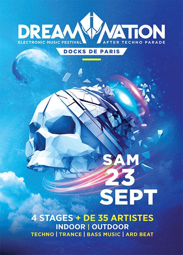 23/09/17 - DREAM NATION - After Techno Parade – PARIS