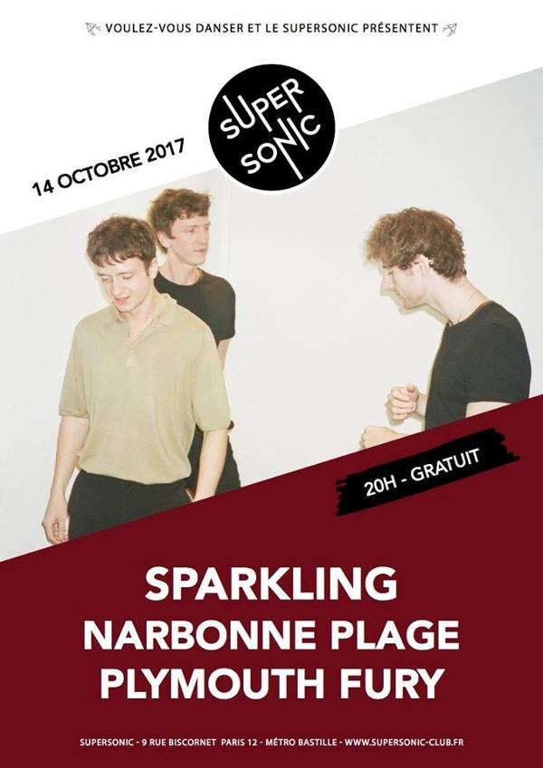 Sparkling • Narbonne Plage • Plymouth Fury / Supersonic - Free