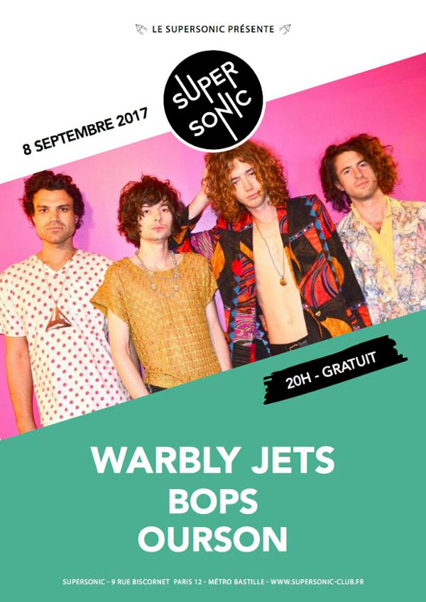 Warbly Jets • Bops • Ourson