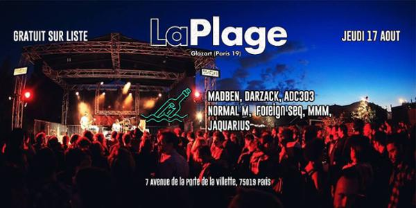 Bouteille à La Plage : Madben Darzack Adc303