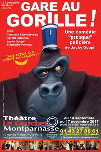 Le Guichet Montparnasse -Gare au Gorille ! Théâtre