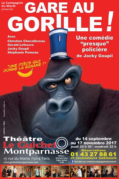 Gare au Gorille ! Théâtre