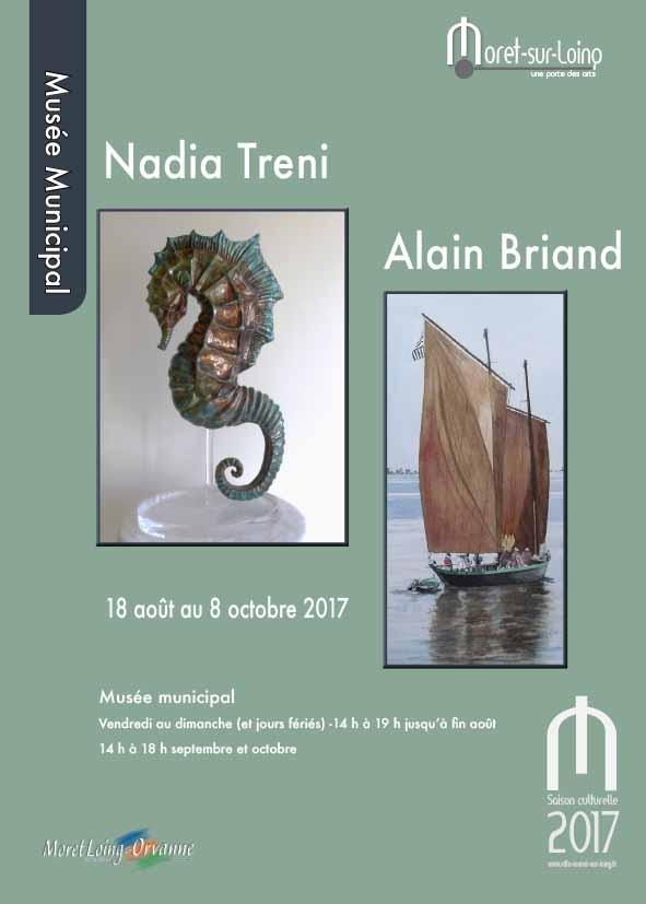 Exposition Nadia Treni et Alain Briand