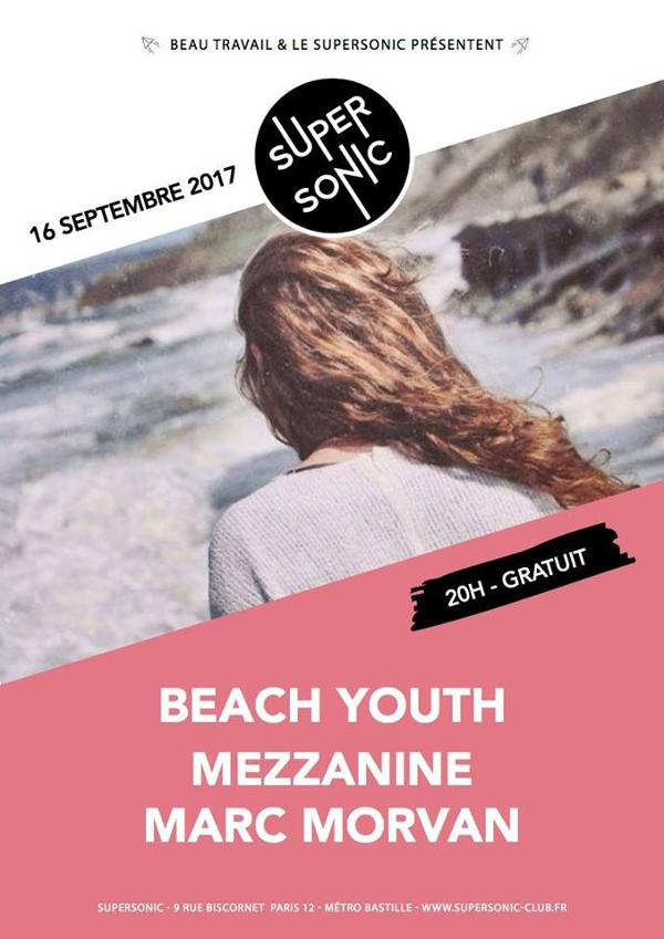 Beach Youth • Mezzanine • Marc Morvan / Free