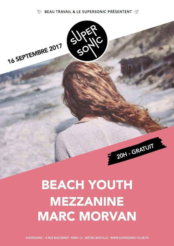 Beach Youth • Mezzanine • Marc Morvan / Free