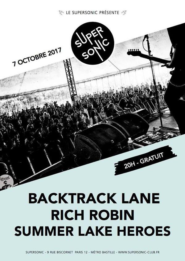 Backtrack Lane • Rich Robin • Summer Lake Heroes / Free