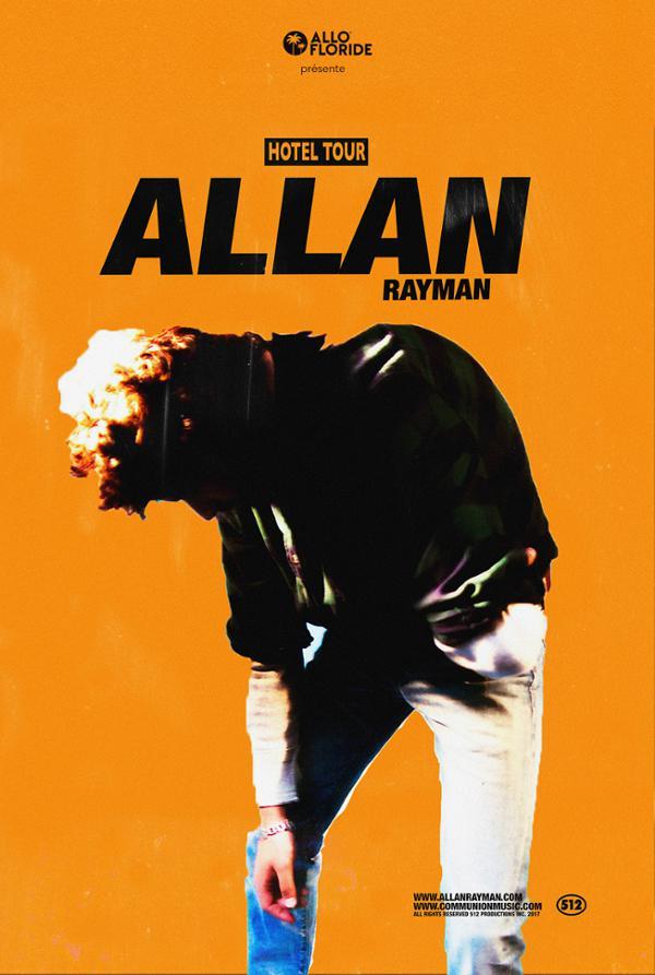 Allan Rayman _ 27 octobre _ Badaboum