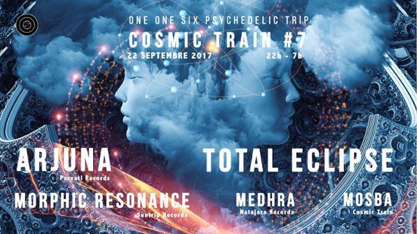 Cosmic Train #7 - Total Eclipse / Arjuna / Morphic Resonance