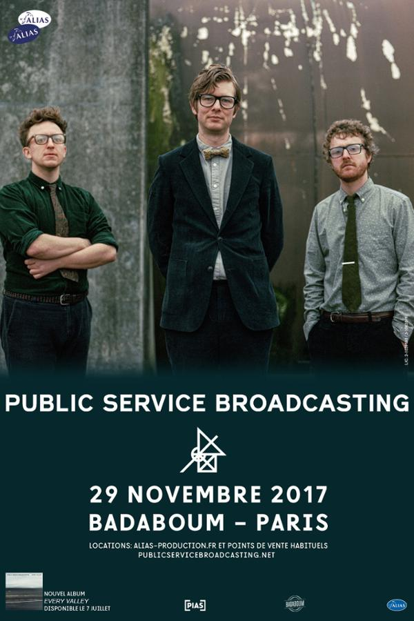 Public Service Broadcasting _ 29 nov _ Badaboum