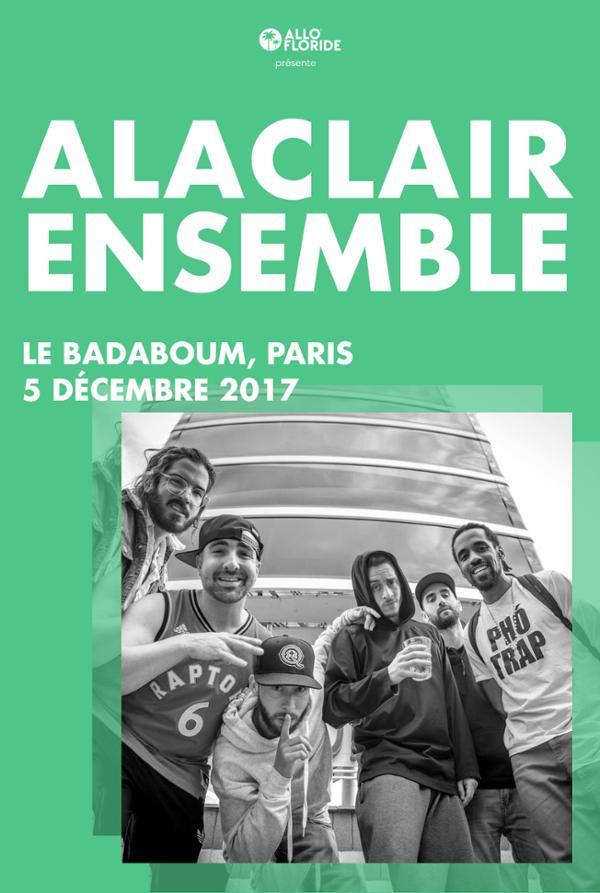 Alaclair Ensemble _ 05 décembre _ Badaboum