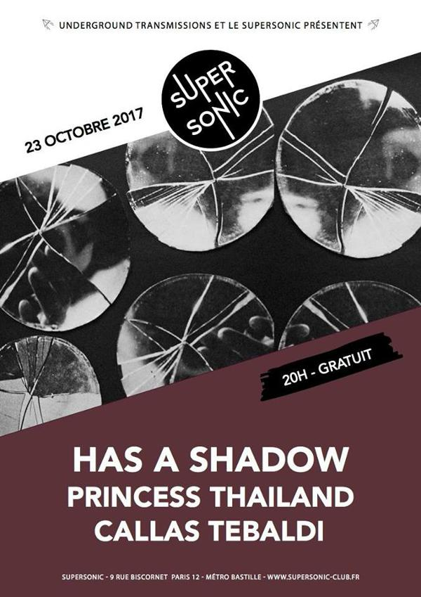 Has a Shadow (Fuzz Club) • Princess Thailand • Callas Tebaldi