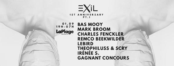 1 an d'Exil - Bas Mooy / Mark Broom / Charles Fenckler / Remco & more...