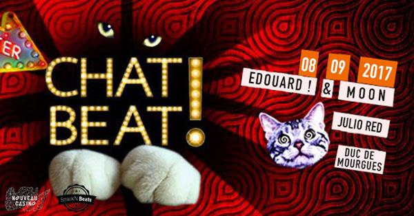 CHAT BEAT! w/ Edouard! & Moon, Julio Red, Duc de Mourgues