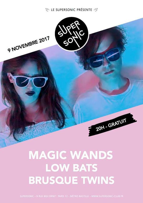 Magic Wands • Low Bats • Brusque Twins / Supersonic - Free