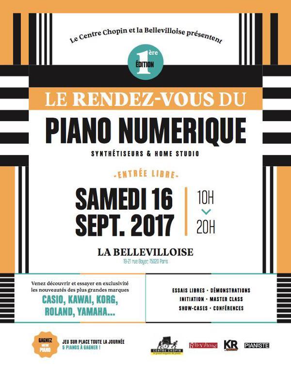 LE RENDEZ-VOUS DU PIANO NUMÉRIQUE #1