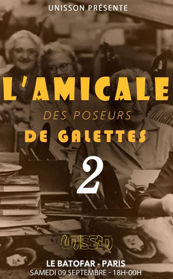 APEROBOAT # L'AMICALE DES POSEURS DE GALETTES